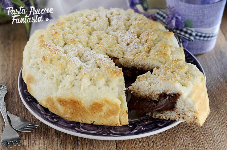 Torta Veloce con Cocco e Nutella
