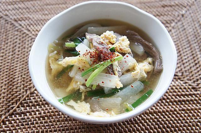 みゆき先生の簡単&おいしい韓国料理レシピ!「カルビスープ」 韓国料理レシピ 韓国料理クッキング カルビタン カルビのスープカルビスープ