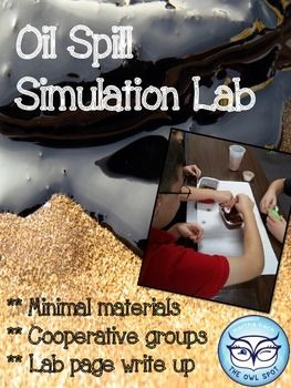 Oil Spill Simulation Lab
