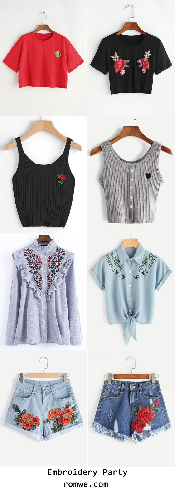 Embroidery Collection 2017 - romwe.com