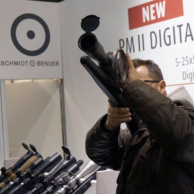 The Schmidt & Bender range proved to be very popular with the shooting show visitors. Schmidt & Bender enjoyed yet another successful British Shooting Show. Stay up to date with all the latest news from The British Shooting Show on Shootingshow.co.uk #Schmitandbender #Manufacturers #Scopes #Optics #Polar #Hunting #Shooting #Stalking #Sport #BritishShootingShow #2016