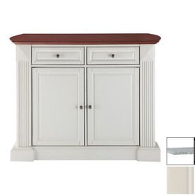 Kitchen Island 36 X 48 white kitchen with blue island. home styles white farmhouse inside