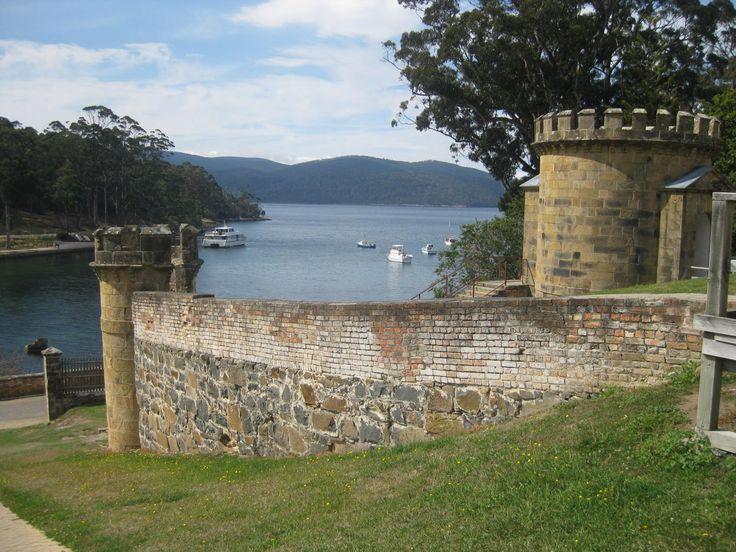 The Guardhouse at Port Arthur Convict Settlement, Tasmania