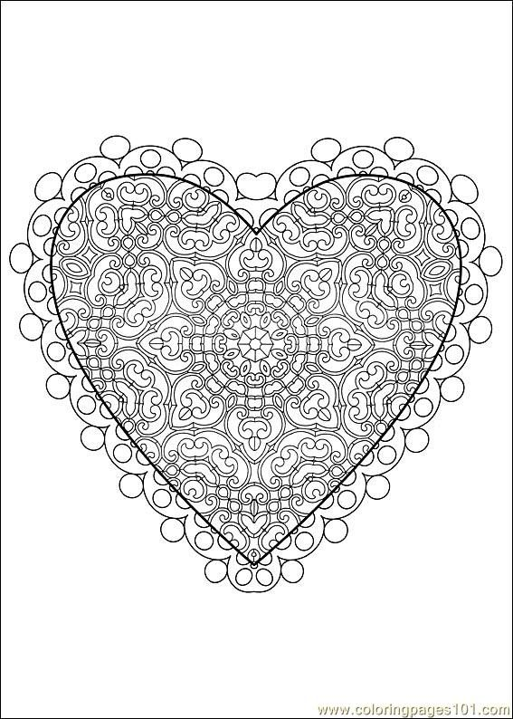 121 best Coloring - Heart Shapes images on Pinterest | Coloring ...