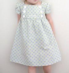 Tutorial: Junebug Dress for little girls   Sewing   CraftGossip.com