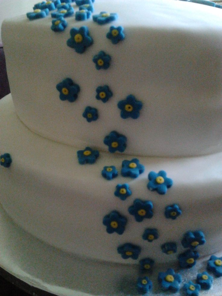 Forget Me Not Cake To Be Raffled For Alzheimer S Society Fundraiser At Work 2017