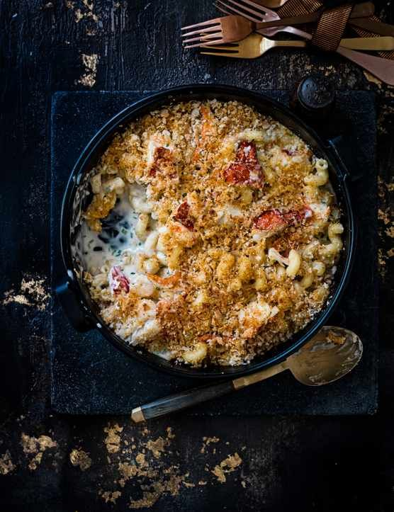 Lobster Mac and Cheeses a deliciously indulgent way to show someone you care this Valentine's Day