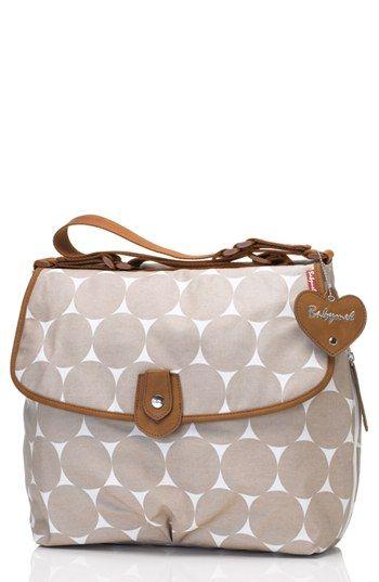 Babymel 'Satchel' Diaper Bag available at #Nordstrom in navy blue