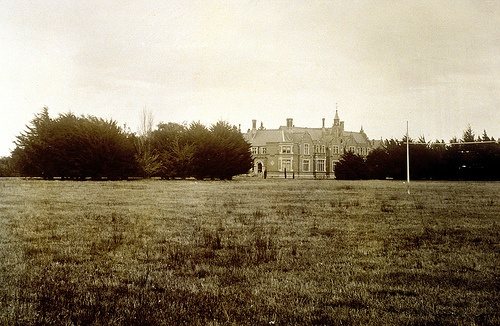 An old photo of Ivey Hall by Lincoln University Library, via Flickr