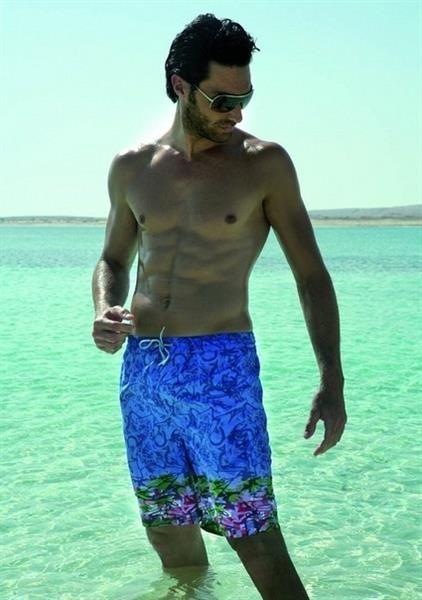 Элитные пляжные шорты мужские