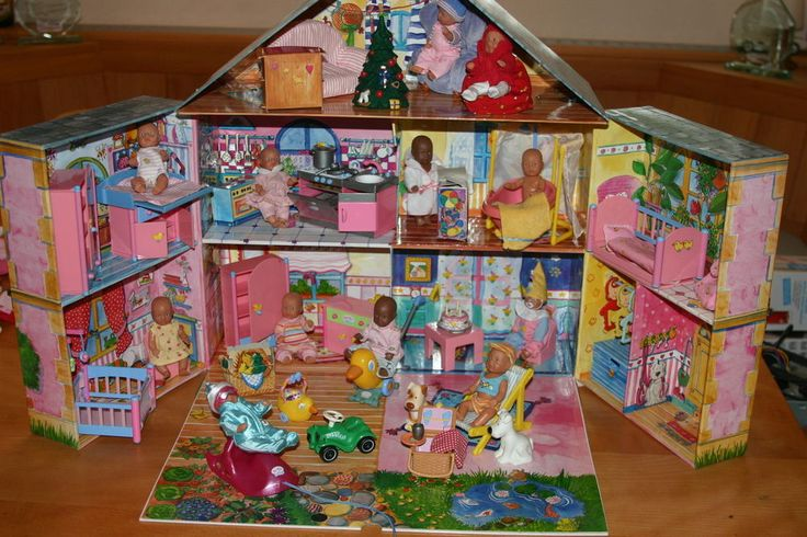 Baby Born Miniworld Haus In Ovp Komplette Sammlung 12