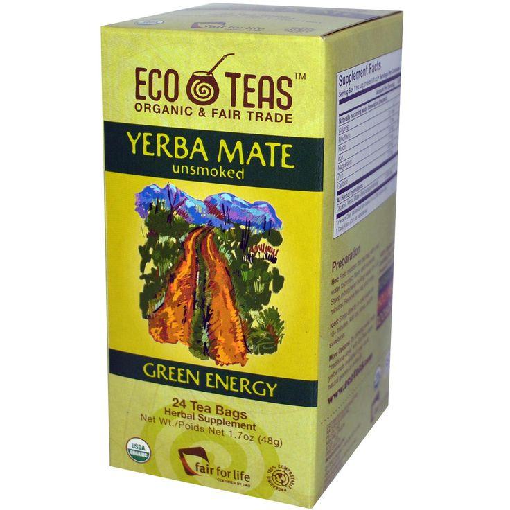 Yerba Mate Tea Bags #healthytea #metabolismboost #organictea #herbaltea #energyboost