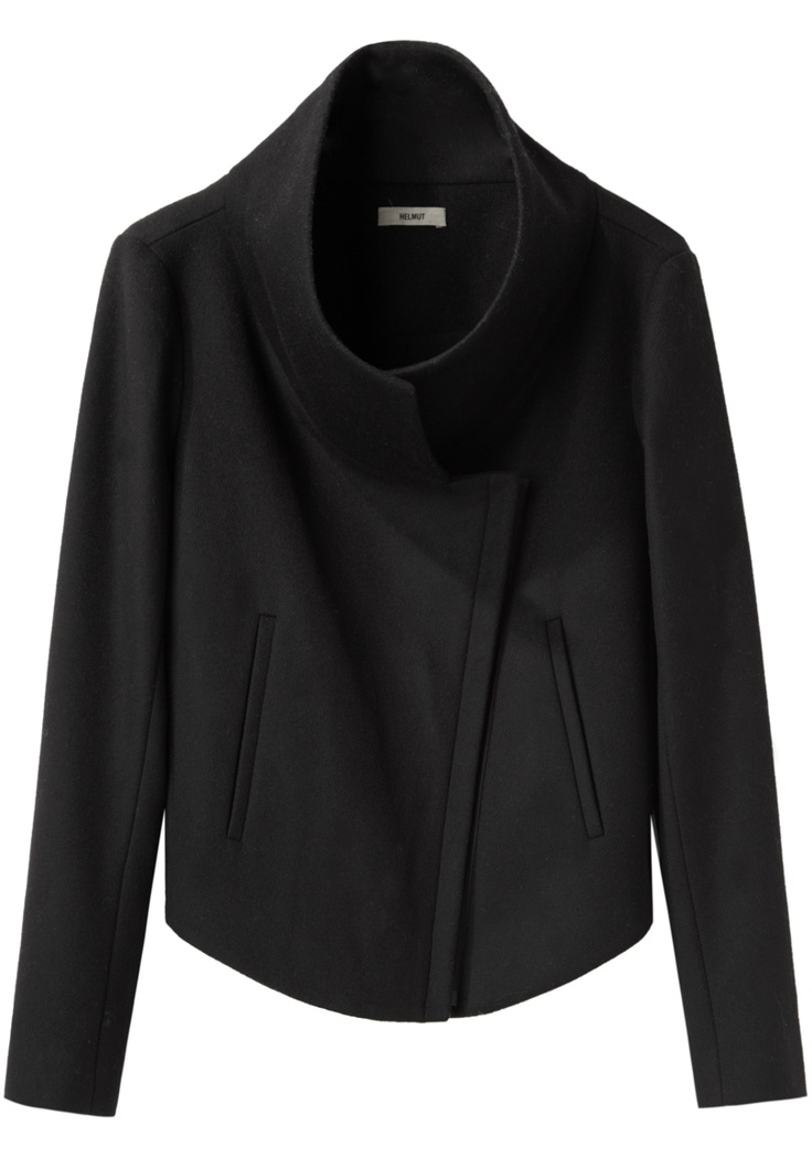 // HELMUT / Vector Felt Stand Collar Jacket