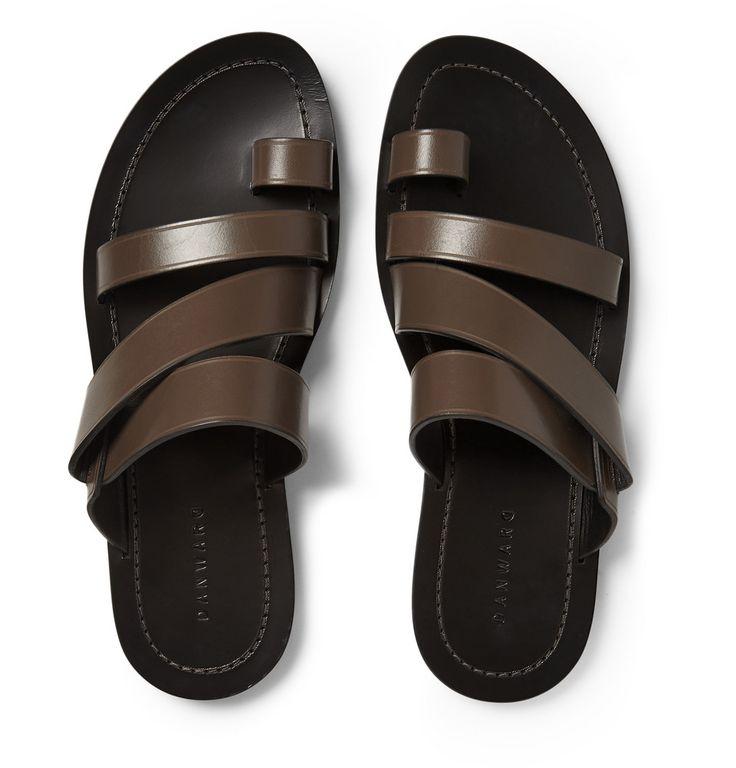 Dan Ward - Multi-Strap Leather Sandals MR PORTER