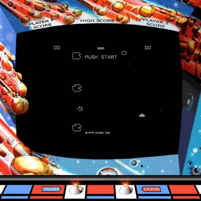Asteroids Arcade Machine
