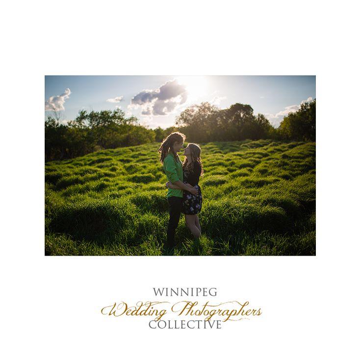 #Engaged #EngagementSession #EngagementPhotos #Winnipeg #WinnipegWeddingPhotographersCollective #TheCollective #Tony #Winnipeg #Manitoba #Kiss #Park #Love #AssiniboineForest #Sunset