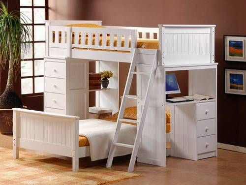 The Different Types And Shopping Tips For Storage Loft Beds With