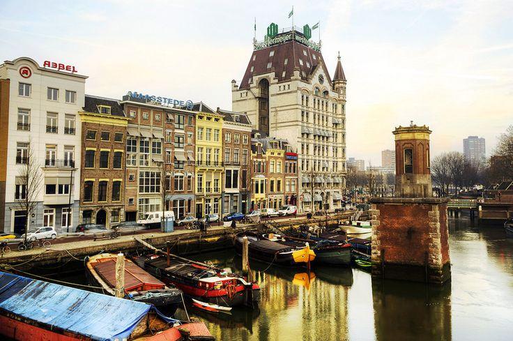 Witte huis, Rotterdam von Photography Arthur van Leeuwen