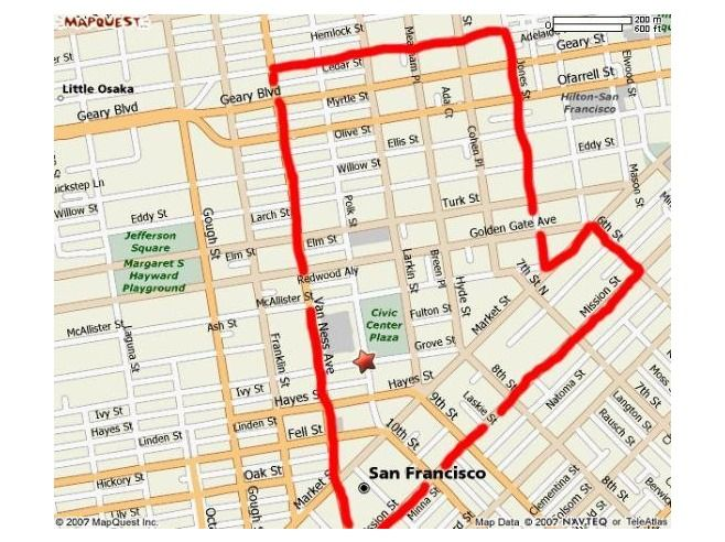 Areas To Avoid In San Francisco And Other Warnings And Dangers - San francisco map tenderloin district