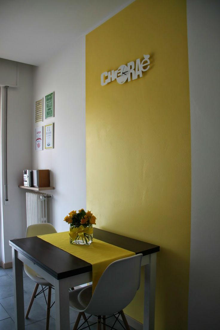 Yellow kitchen - cucina giallo