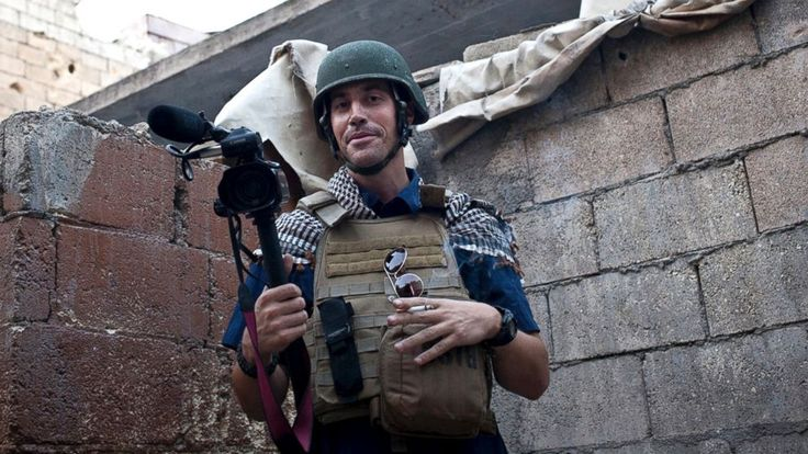 Jim Foley.  Aleppo, Syria.