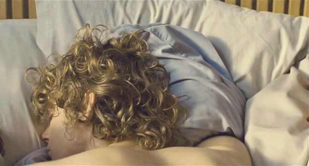 S. His skin is a lot darker, but the curls. ^-^ Precious. He always sleeps like that, too.