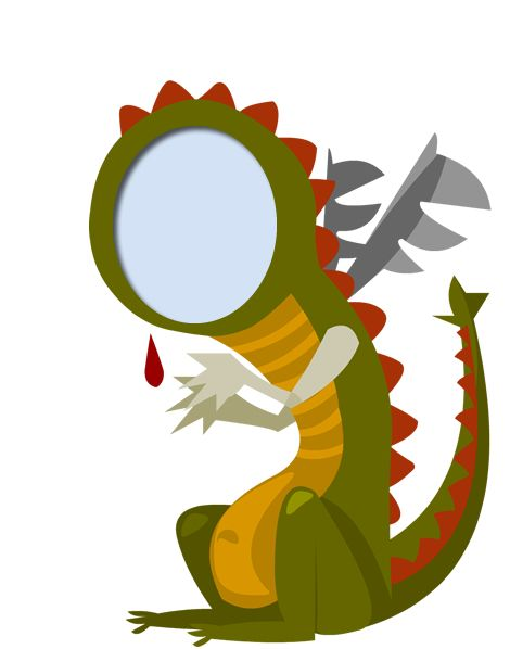 Coloca al dragón