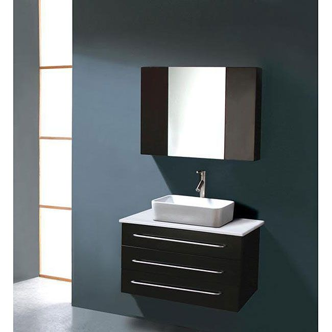 Create Photo Gallery For Website Virtu USA Ivy inch Single Sink Bathroom Vanity Set