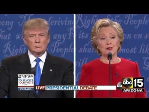 FULL Presidential Debate - Donald Trump vs. Hillary Clinton - YouTube