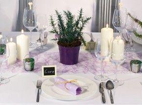Tischdeko Provence