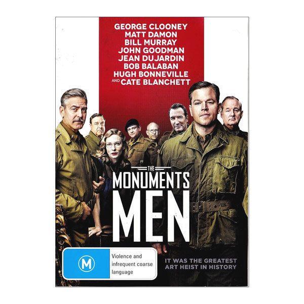 The Monuments Men DVD Brand New Region 4 Aust. - Matt Damon, George Clooney