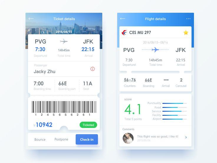 Flight Interface Design