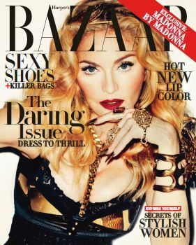 Harper's BAZAAR USA - November 2013 with Madonna