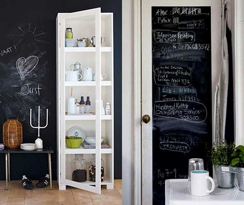 I WILL have chalkboard paint in my future home somewhere