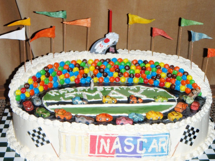 Kyle Busch Race Car Cake