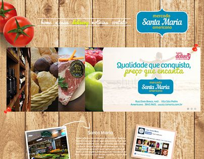 """Check out new work on my @Behance portfolio: """"Site Conceito Casa Santa Maria"""" http://on.be.net/1BWQP5I"""