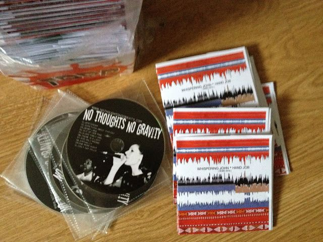 ZBYSZEK RECORDS? No Thoughts No Gravity and Whispering John - Demo CDs