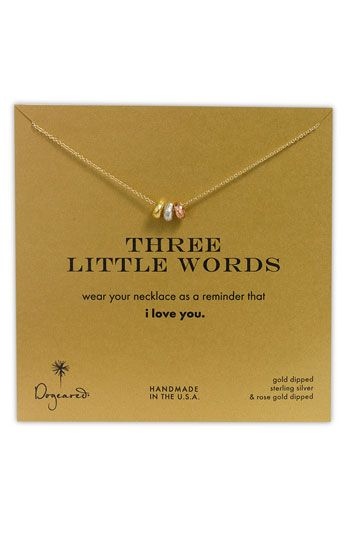 so want to get this for Ave when she is older. Love dogeared jewelry. So affordable and meaningful.