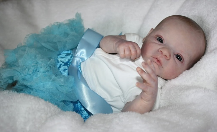 baby doll by Jennifer Watier of Incredababies
