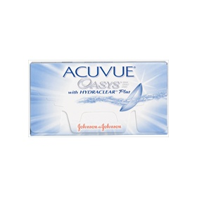 ACUVUE OASYS with HYDRACLEAR Plus (6 szt.)/ day to 14 days lenses (6 pieces)