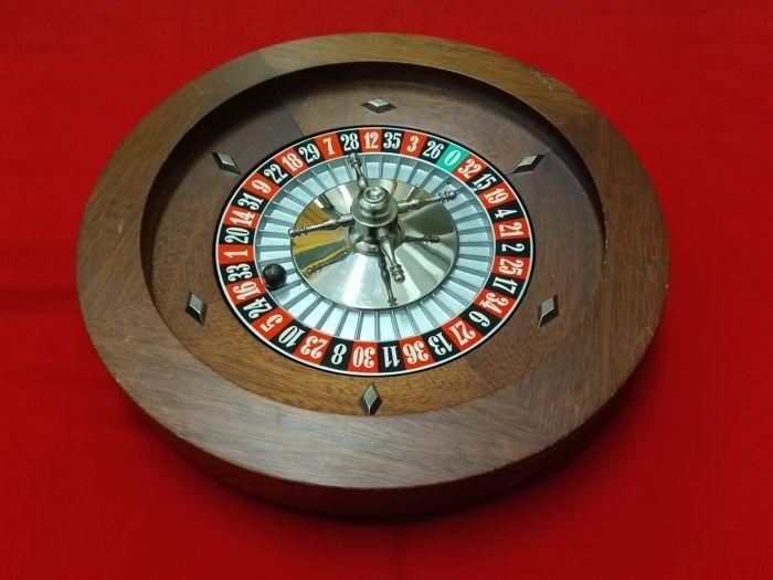 Catawiki, pagina di aste on line  Roulette in legno - Grandi dimensioni - Dal Negro, Italia, 80s