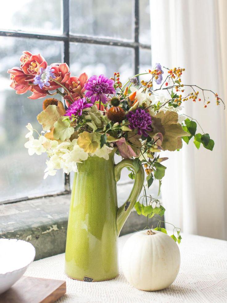37 Easy Fall Flower Arrangement Ideas Traditional Fall