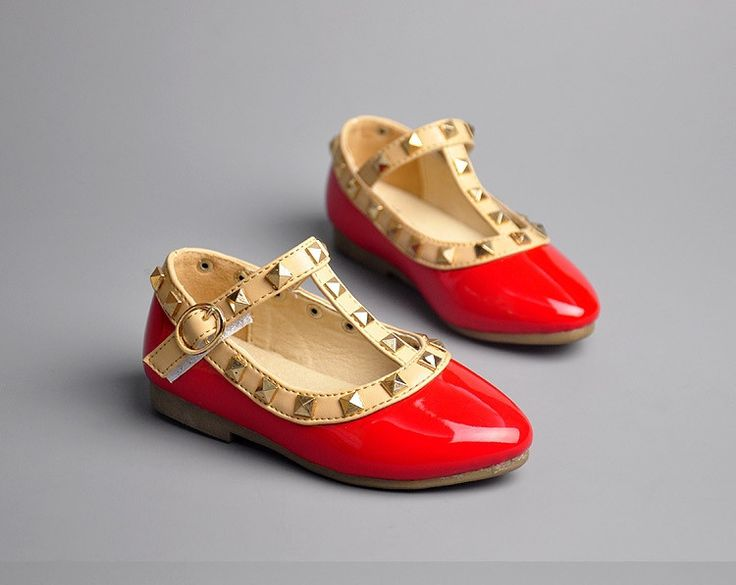 Valentino inspired flats for your little girl
