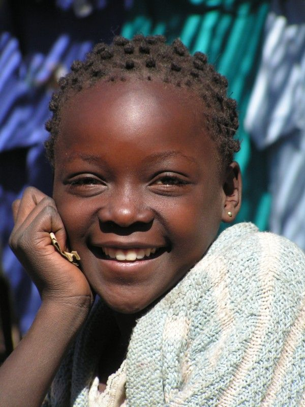 Young lady from Lubumbashi, in the Katanga province in far south Congo/Kinshasa.