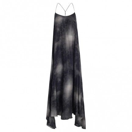 Ribbons Scarf Hem Dress - Dresses & Coverups - Clothing - Swim & Resort #zimmermanngoesto