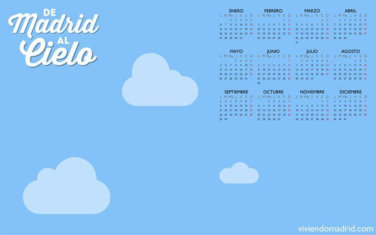 De Madrid al Cielo - Fondo de Escritorio/Calendario 2014