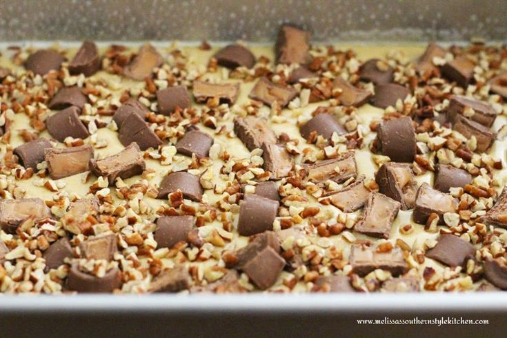 Loaded Turtle Cookie Bars - melissassouthernstylekitchen.com