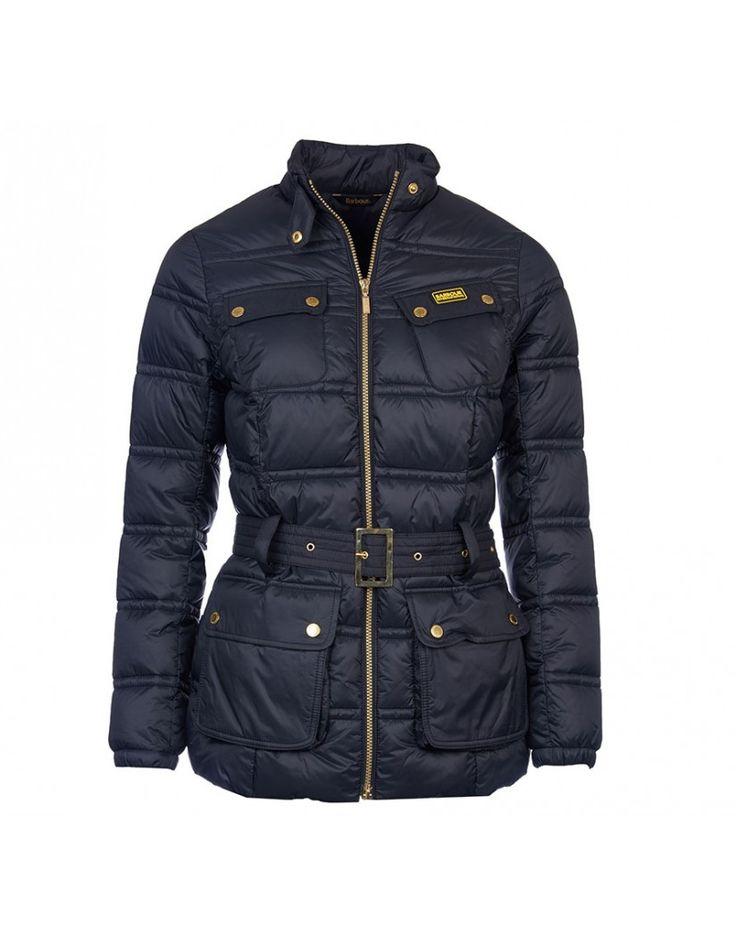 Barbour International Women's Pannier Baffle Quilted Jacket - Black LQU0730BK11 | Country Attire