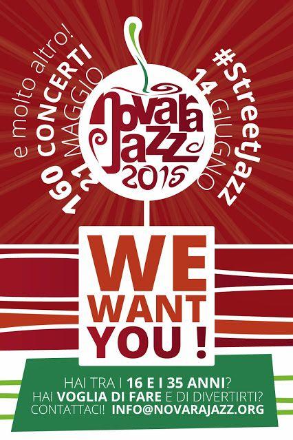 NovaraJazz ti dà la possibilità di entrare a far parte di uno dei più importanti festival jazz italiani! Si richiede nulla se non un po' di buona volontà e potrai vivere un'esperienza emozionante tra musica internazionale, enogastronomia, luoghi magnifici e gente divertente! Cosa aspetti? Contatta info@novarajazz.org ed entra a far parte della squadra!