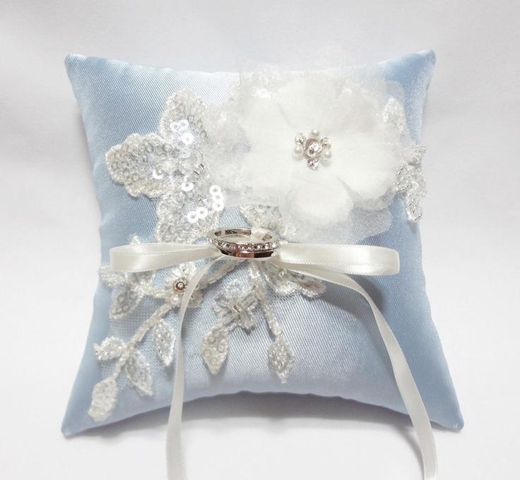 143 best Wedding ring pillow images on Pinterest Ring pillow Ring